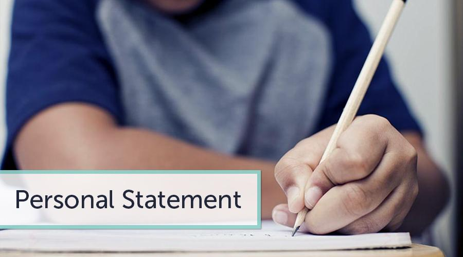Writing a Personal College Application Statement