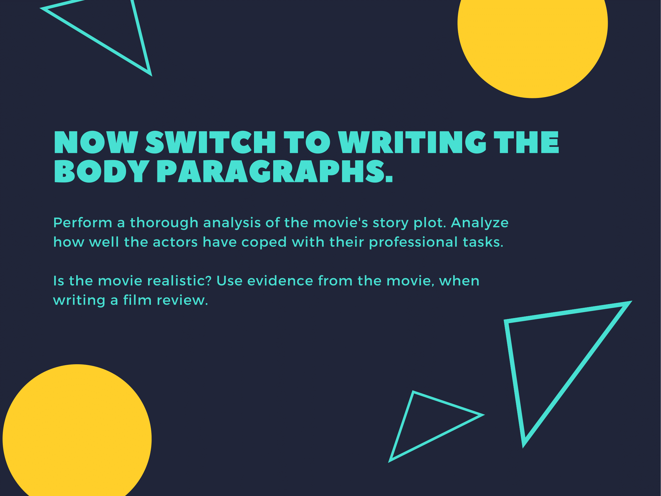 Movie Review Essay Guide Slide 7